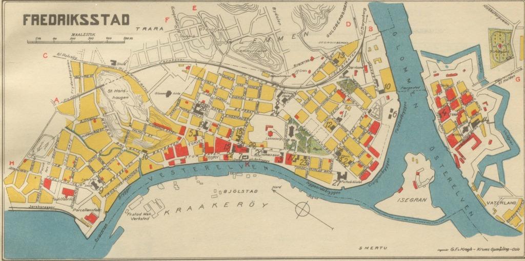kart fredrikstad Fredrikstad Geo – hbrgeo kart fredrikstad