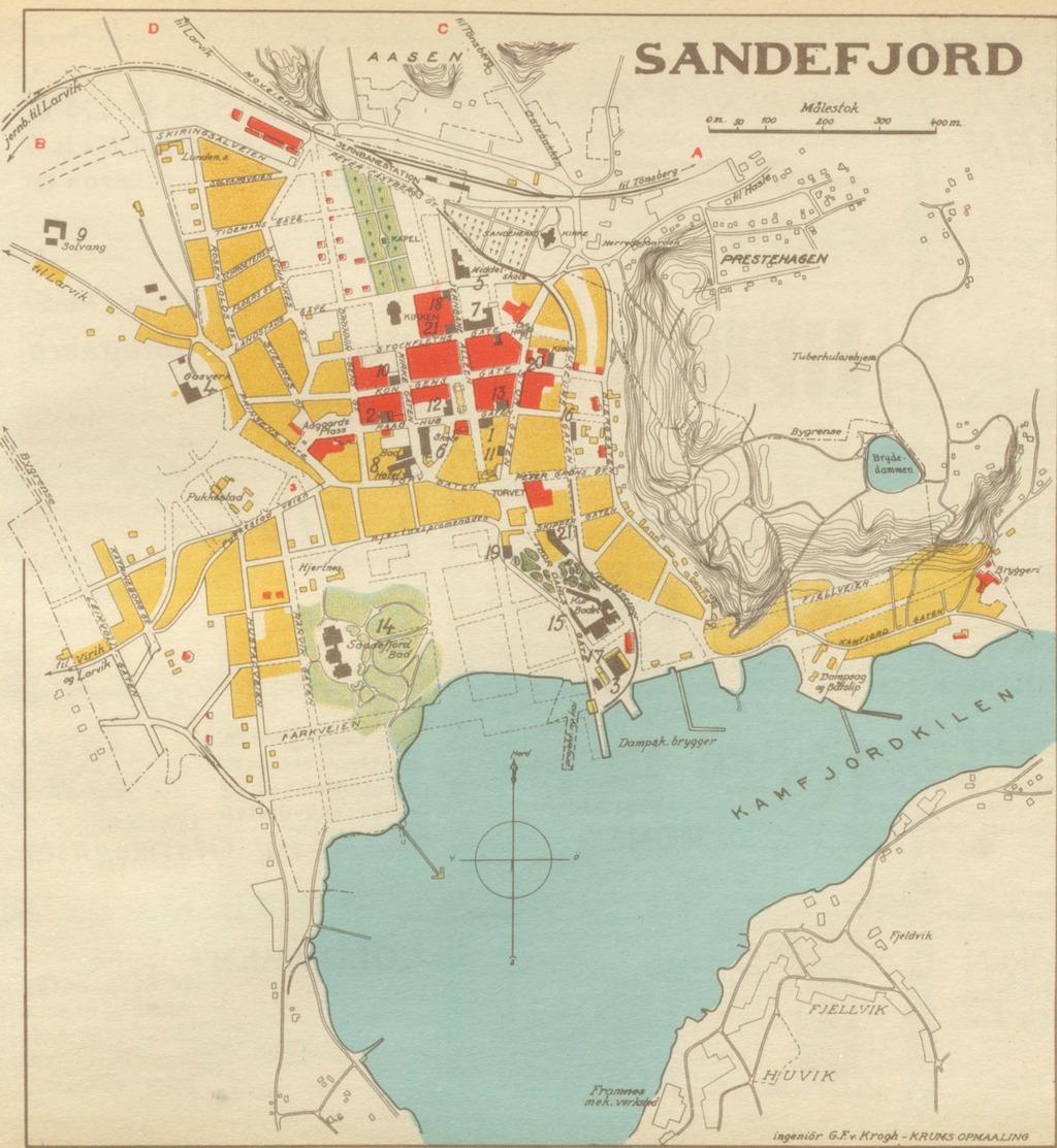 kart over sandefjord sentrum Samleside – hbrgeo kart over sandefjord sentrum