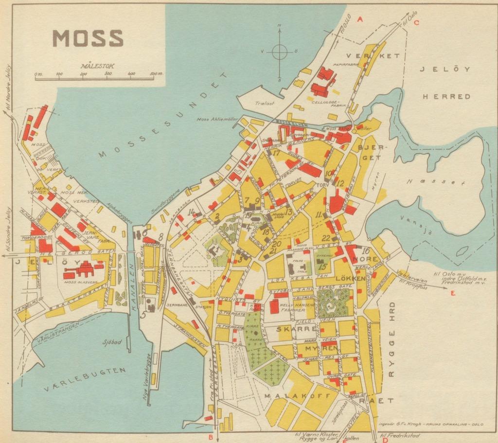 kart over moss Moss Geo – hbrgeo kart over moss