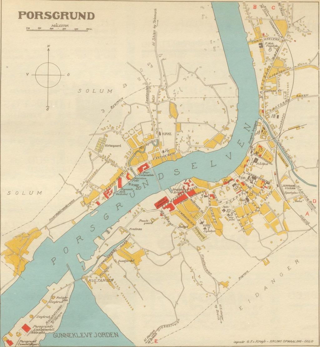 porsgrunn kart Porsgrunn Geo – hbrgeo porsgrunn kart