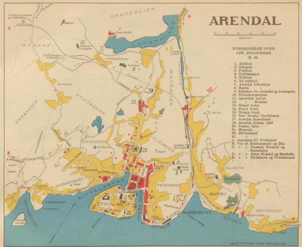 kart arendal Arendal Geo – hbrgeo kart arendal