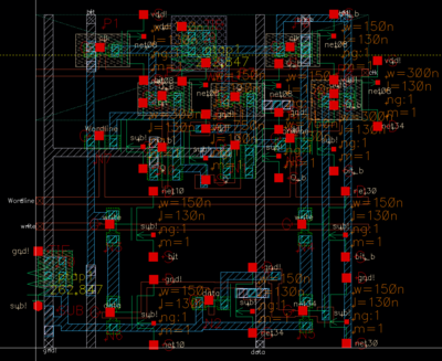 Extracted layout SRAM with bt wd.png